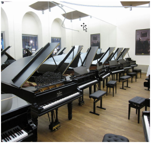 Magasin pianos neufs