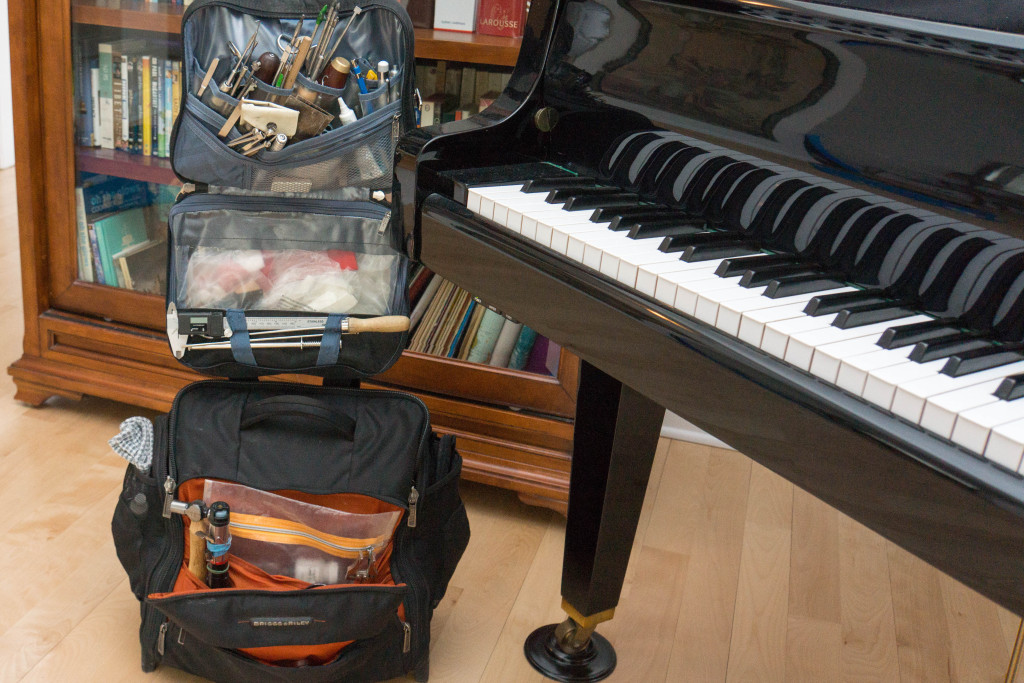 Un sac d'outils complet.