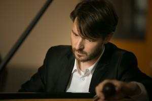Nicolas Lessard, technicien accordeur