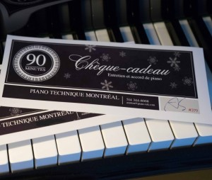 A piano tuning is a wonderful holiday gift.