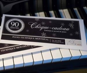 Offrez un entretien et accord de piano à un être cher